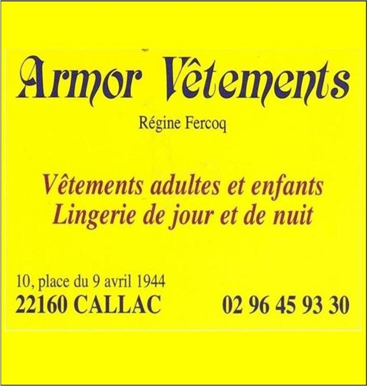 Armor Vêtements de Regine Fercoq